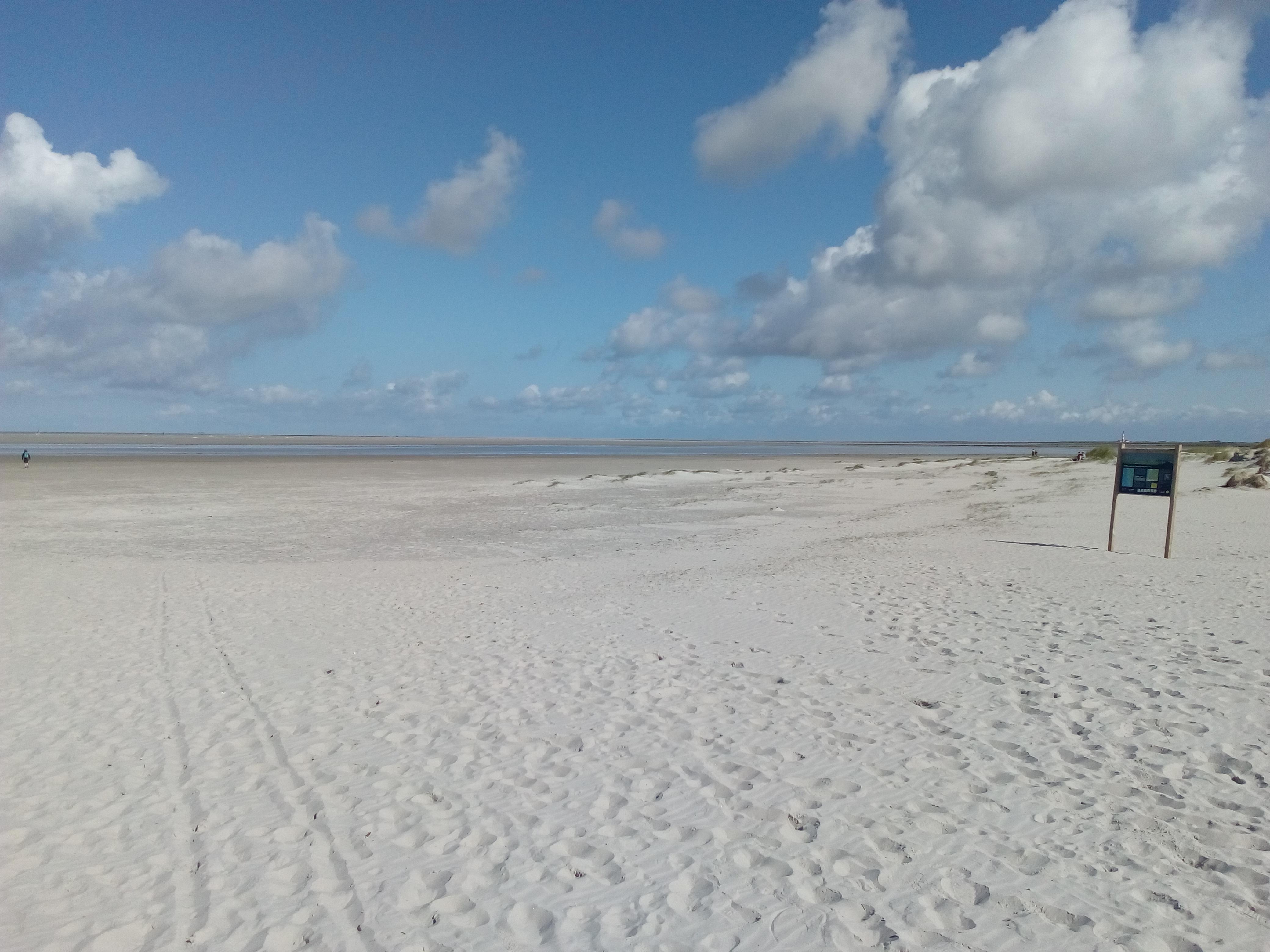 Sand, so weit wie das Auge reicht…